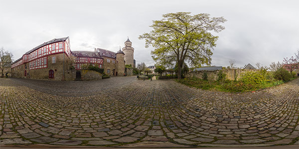 Am Hexenturm in Idstein, Panorama 1